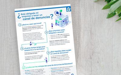 Lo que debes saber sobre el Canal de Denuncias en esta práctica infografía